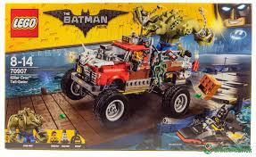 100 Tarantula Trucks LEGO Batman Movie 70907 Killer Croc TailGator Review The