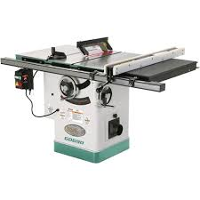 10 3hp 220v cabinet table saw with riving knife grizzly industrial
