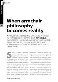 Feature: When Armchair Philosophy Becomes Reality - A M Ferner ... Armchairs And Light Sculptures By Plust Collection Design Made In New Life Armchair S Stylepark Shin Bedroom Visionnaire Home Philosophy Ht Bett Designs Metaphysical Modality And Counterfactual Ccentrationspecific Halloween Costumes Blogdailyherald 12 The Problem Of Evil Youtube Why Do Women Cross The Street To Avoid You Rosies Muse Talk 2015 Fabricius Walter Knoll Duck That Won Lottery 100 Experiments For