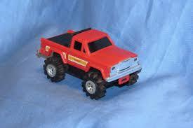 100 Stomper Toy Trucks SCHAPER STOMPER JEEP Honcho Pick Up Truck 4x4 Red 2299 PicClick