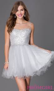 sequin bodice babydoll party dress promgirl