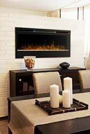 Electric Fireplace In Dining Room