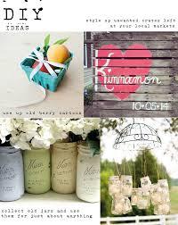 DIY Ideas For Rustic Weddings Summer Wedding