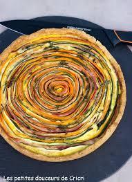 cuisiner les l馮umes autrement les petites douceurs de cricri recette tarte aux légumes et au