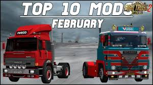 TOP 10 ETS2 Mods February 2018 (1.30.x) - Euro Truck Simulator 2 ...