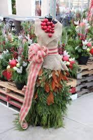 Outdoor Christmas Decorations Ideas Pinterest by 34 Best Outdoor Christmas Planters Images On Pinterest Outdoor