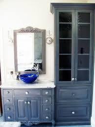 Bathroom Vanity Tower Ideas by Bathroom Bathroom Vanities With Towers Towel Cabinet For
