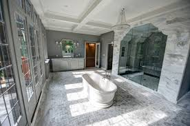 the tempesta neve marble collection traditional bathroom