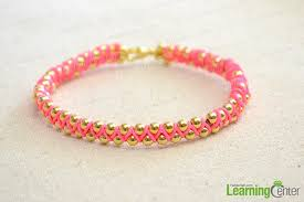 Making String Bracelet Is Easy And Its All The Rage These Days Browse More Handmade Jewelry Tutorial You Can Make One Of A Kind Accessory