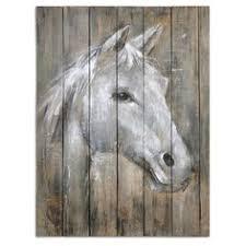 Uttermost UTT 35312 Dreamhorse Hand Painted Art Pallet PaintingHand