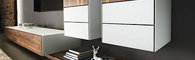lowboard hängend dansk design massivholzmöbel