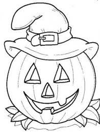 Halloween Printable Coloring Pages Free 09