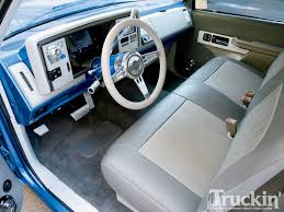 100 Truck Interior Parts 1991 Chevy C1500 Custom In Magazine