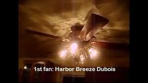 Harbor Breeze Ceiling Fan Light Bulb Replacement by Harbor Breeze Dubois Ceiling Fan And Others Hd Youtube