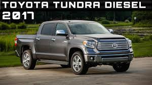 100 Tundra Diesel Truck 2017 Toyota Review Rendered Price Specs Release Date