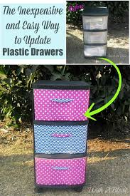 Plastic Drawers On Wheels by 25 Unique Decorate Plastic Drawers Ideas On Pinterest Diy