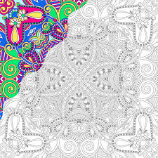 Free Coloring Pages Color By Number Books For Adults In Design Picture Page