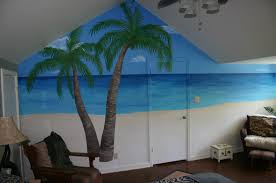 stylish beach themed wall decals best house design