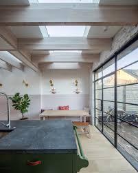 100 English Architects Mike Tuck Groombridge Kitchen MikeTuckStudio Fireplace Crittall