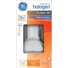shop ge 45 watt indoor halogen flood light bulb at lowes