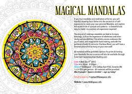 Magical Mandalas O Art Class