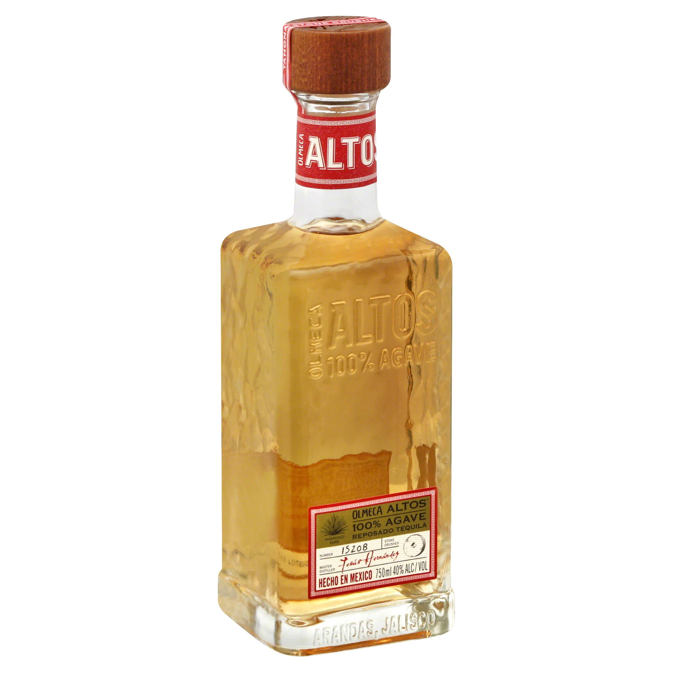 Olmeca Altos Tequila, 100% Agave - 750 ml