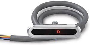 lokar cind 1702 aluminum led horizontal dash indicator 700 r4