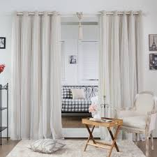 White And Gray Blackout Curtains by Stylish And Functional These Curtains Are Ideal For Late Sleepers