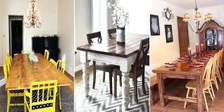 Diy Dining Table Ideas Most Popular Room