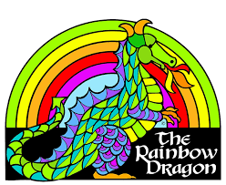 The Rainbow Dragon Coloring Book For Adults Children