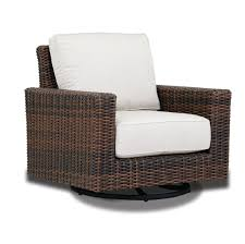Montecito Swivel Rocker Patio Chair With Sunbrella Cushions