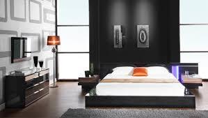 black lacquer platform bed luxor 923 modern platform bed in high