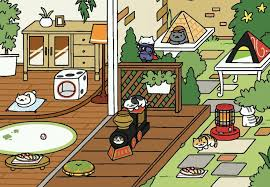 Whiteshadow And Frosty Lured By Sashimi In Rustic Style