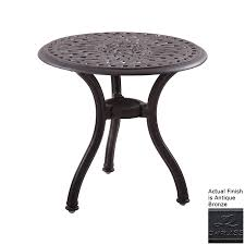 Darlee Patio Furniture Quality by Shop Darlee Series 60 22 In W X 22 In L Round Aluminum End Table