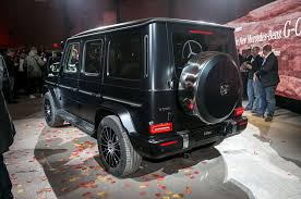 The All-New 2019 Mercedes-Benz G550 Debuts In Detroit, Cuts Down On ... Mercedesbenz G 550 4x4 What Is A Portal Axle Gear Patrol Mercedes Benz Wagon Gpb 1s M62 Westbound Uk Wwwgooglec Flickr Amg 6x6 Gclass Hd 2014 Gwagen 6 Wheel G63 Commercial Carjam Tv Lil Yachtys On Forgiatos 2011 Used 4matic 4dr G550 At Luxury Auto This Brandnew 136625 Might Be The Worst Thing Ive Driven Real History Of The Gelndewagen Autotraderca 2018 Mercedesmaybach G650 Landaulet First Ride Review Car And In Test Unimog U 5030 An Demonstrate Off Hammer Edition Chelsea Truck Company Barry Thomas To June 4 Wagon Grows Up Chinese Gwagen Knockoff Is Latest Skirmish In Clone Wars