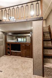 Travel Trailer Floor Plans Rear Kitchen by Montana 3950br Mid Bunk Floor Plan Office U0026 Bunk 41 U0027 No Os