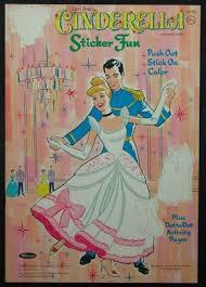 Cinderella Sticker Fun Book