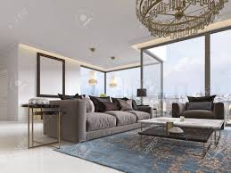 100 Living Room Table Modern Luxury Living Room Interior With A Sofa Armchairs A