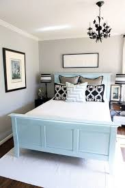 Light Bedroom Colors And Black White Decorating Ideas Visually Increasing Small Design