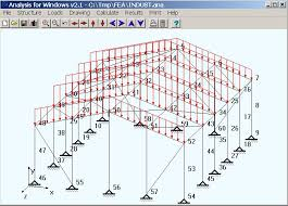 Wood Structure Design Software Free by Free Mechanical Engineering Finite Element Analysis