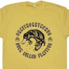 duck billed platypus t shirt funny t shirts vintage t shirts