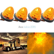 100 Marker Lights For Trucks 2019 3 16 LED Truck Side Amber Beehive Dome Clearance