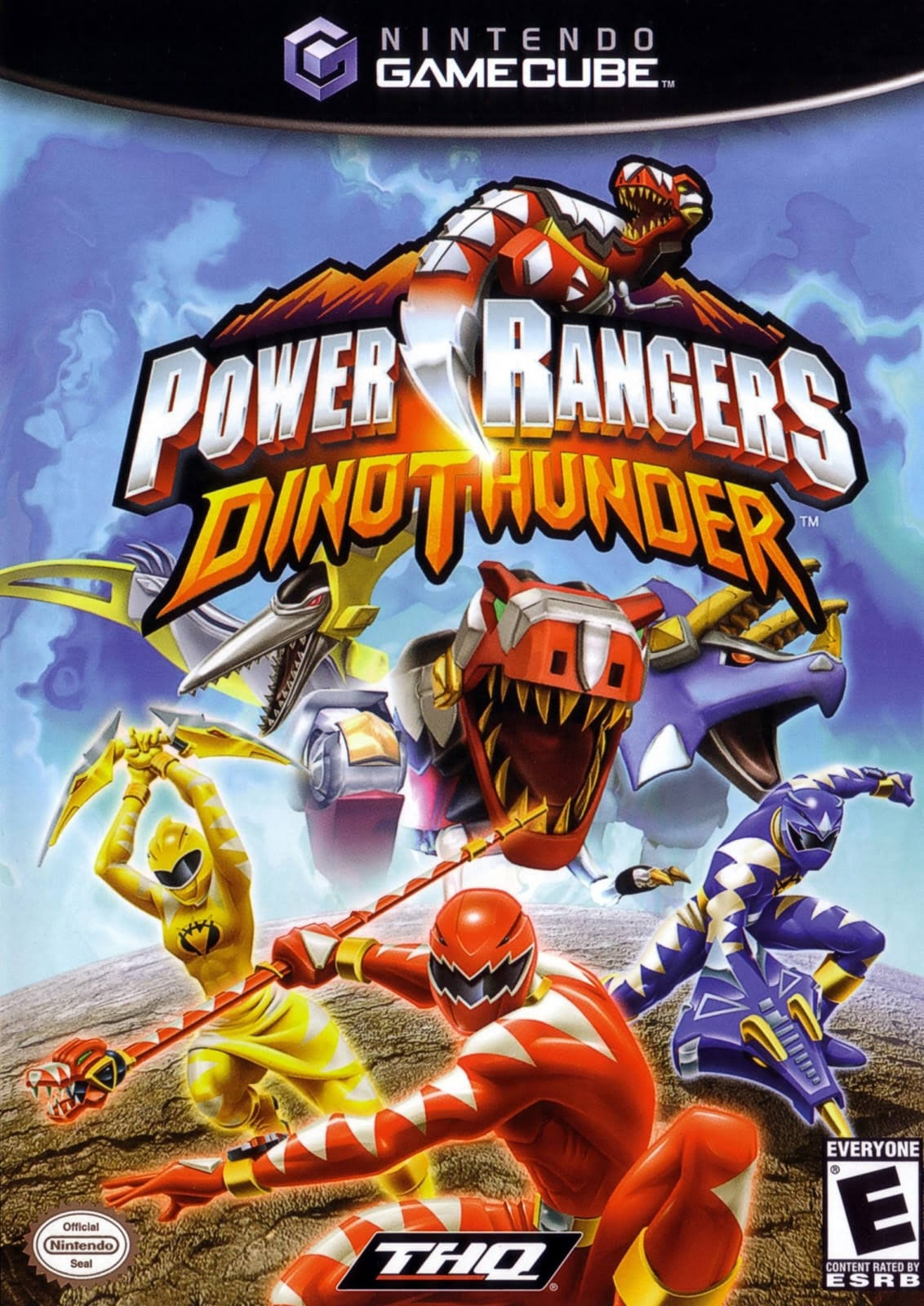 Power Rangers Dino Thunder - Nintendo