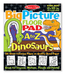 Melissa And Doug Dinosaur Floor Puzzles by Big Picture Floor Pad A To Z Dinosaurs