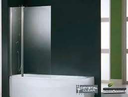 si e pivotant de baignoire pare baignoire 3 2 volets fixe pivotants verre