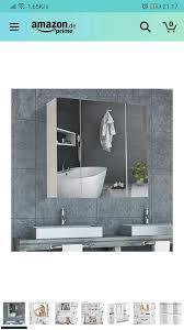 neu dictac spiegelschrank badezimmer