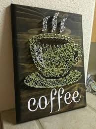 10x12 Coffee Cup String Art