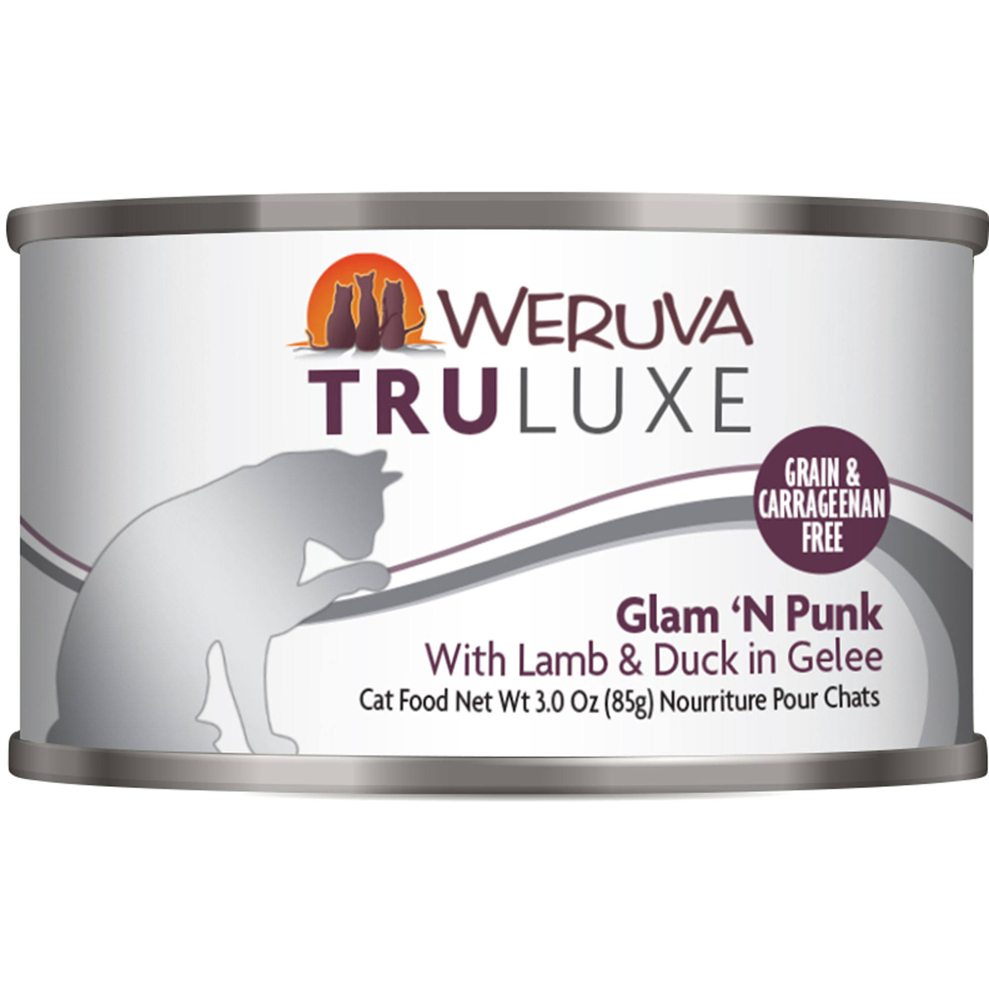 Weruva Grain Free Truluxe Canned Cat Food - Glam 'N Punk, Adult