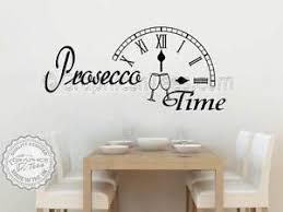 citation sur la cuisine prosecco wall sticker kitchen quote bar restaurant