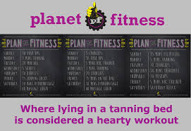 Planet Fitness Tanning Beds by Planet Fitness Workout Plans Thyristor U0027s Weblog